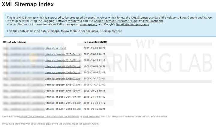 how to use the google xml sitemaps wordpress plugin Sitemap Pt Post 2015 03