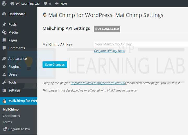 How To Use The MailChimp For WordPress Plugin