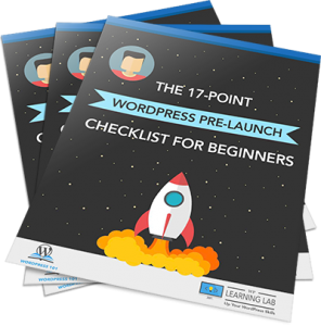 THE ULTIMATE 17-POINT - WordPress Pre-Launch Checklist