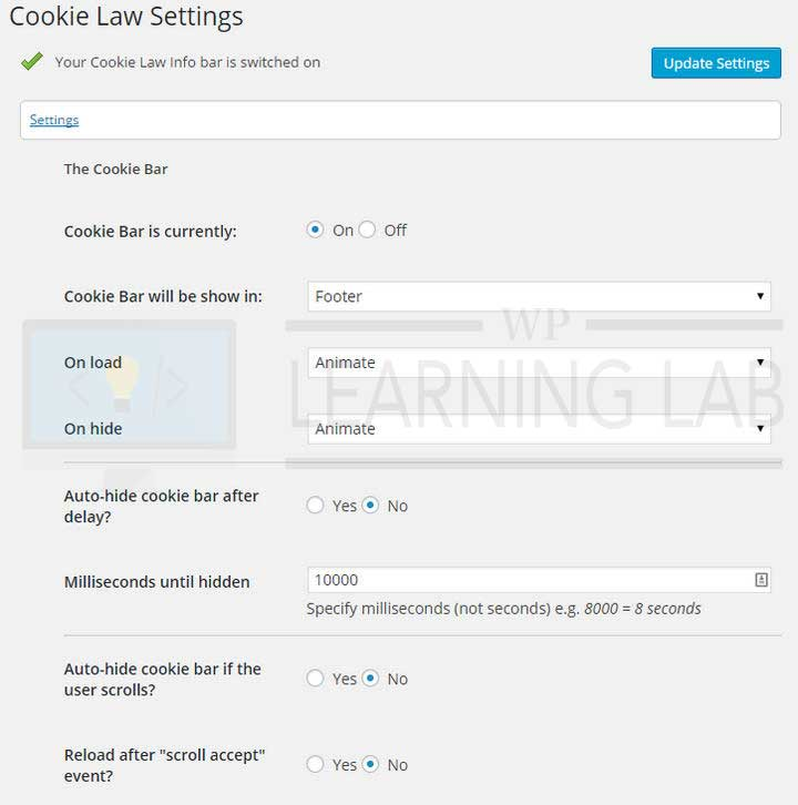cookie-law-info-wordpress-plugin-2-settings