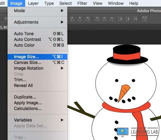 Images Optimized For Web - Change Image Size