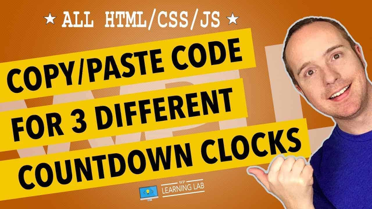 Countdown Timer – Custom Built Using HTML, Javascript, and CSS